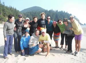 Our Group with Northwest Women's Surf Camp