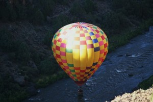Highlight of 2014 was our hot air balloon ride in New Mexico